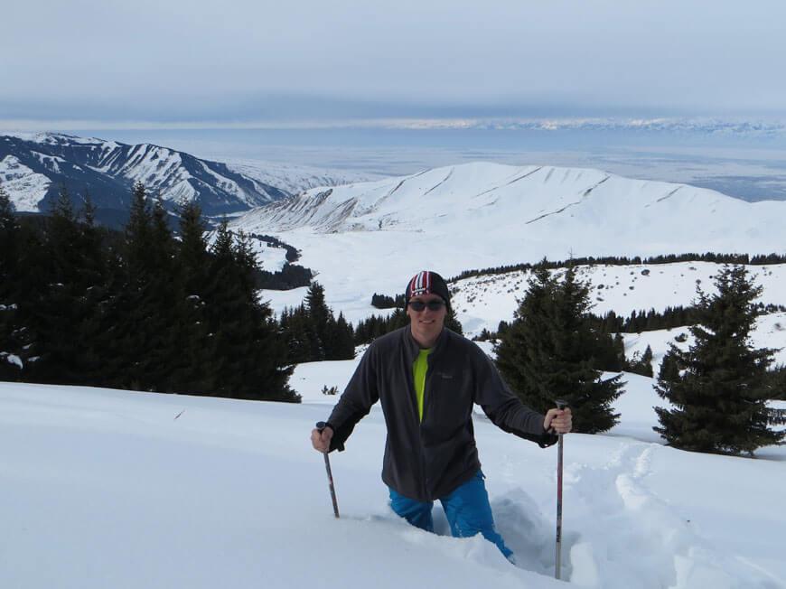 бэккантри в Киргизии