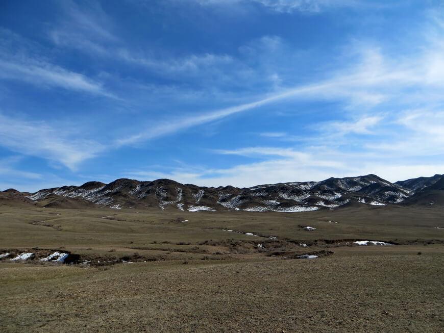 горы Ерегетау