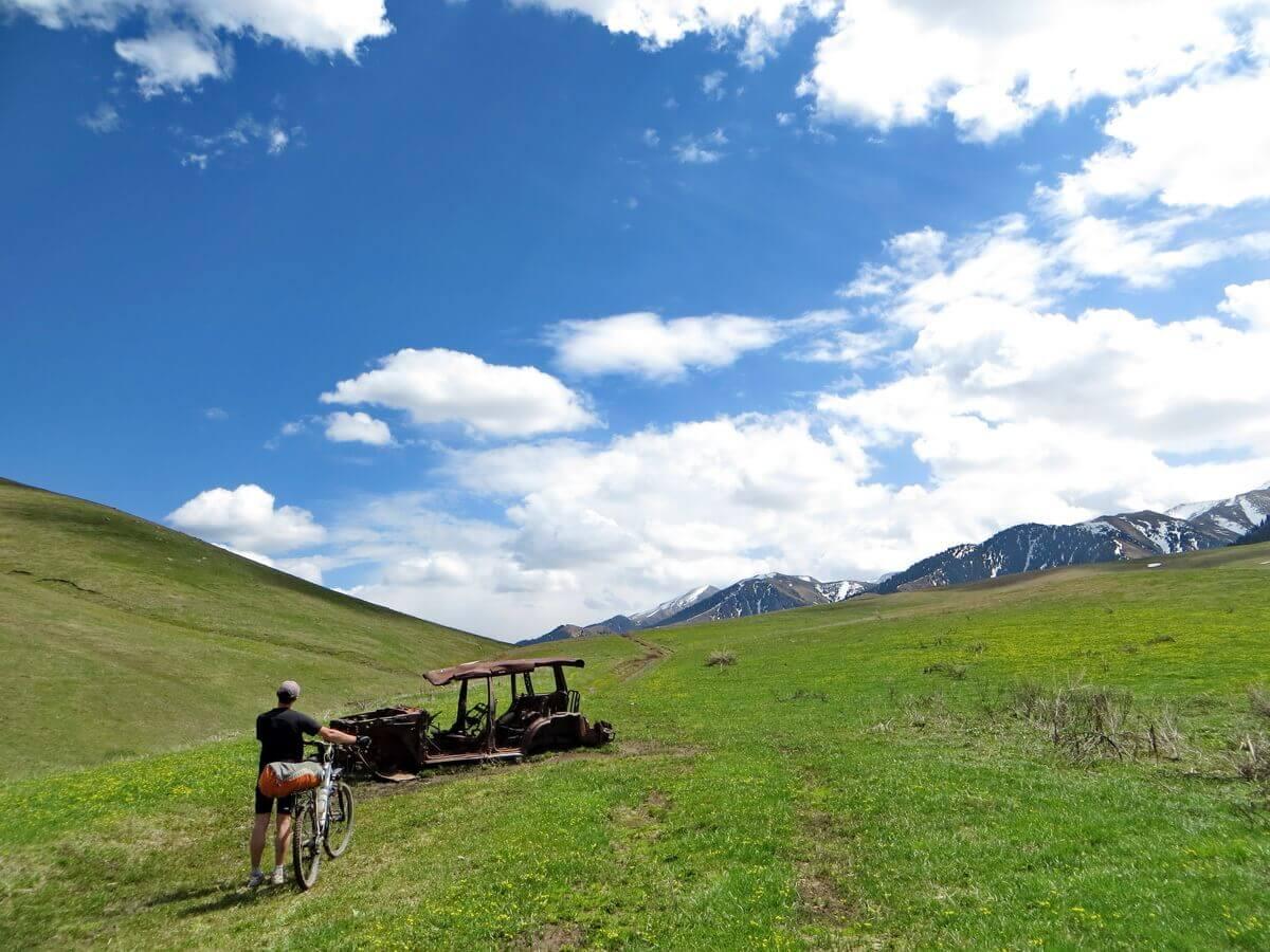 велопоход около Тургеня