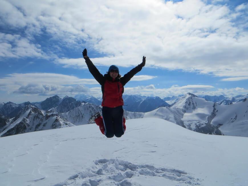 пик Советов, альпинизм в Казахстане