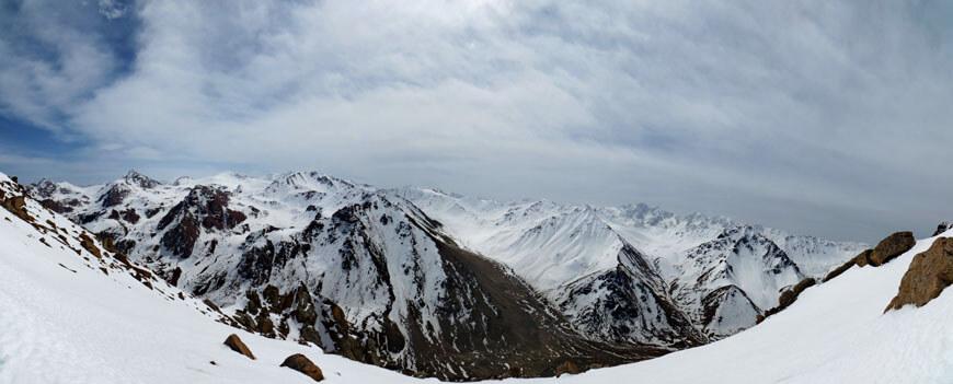 Панорама Каскеленского ущелья