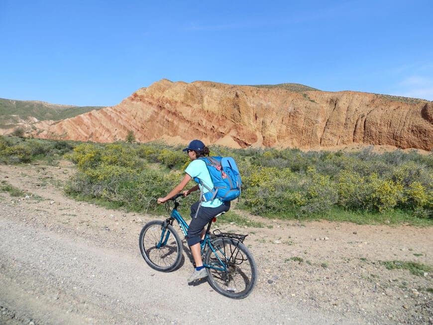 красные скалы, плато Борохудзир