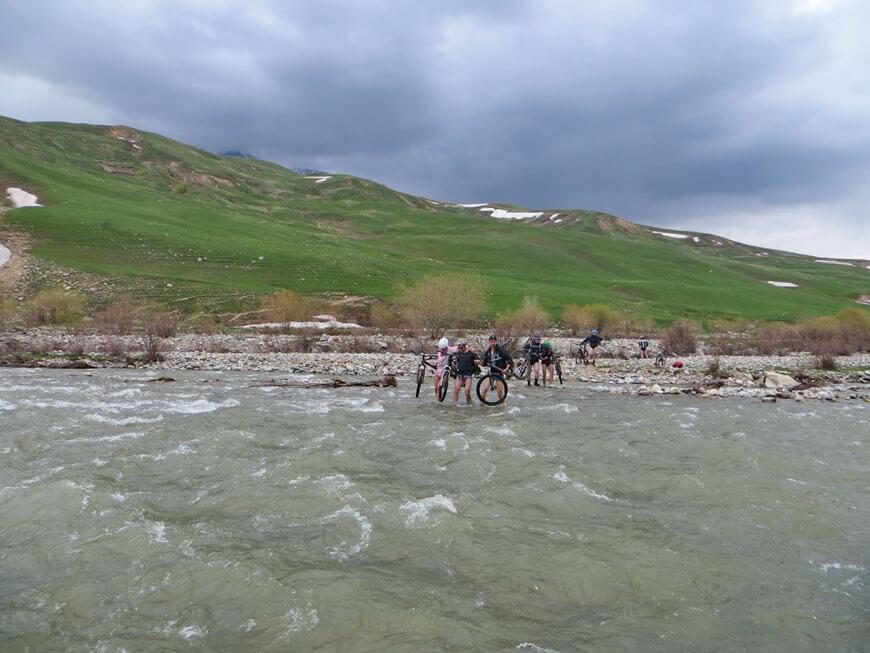 переправа, река Кескентерек