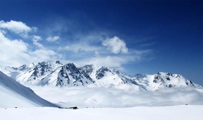 Что может быть красивее гор? Только космос :)