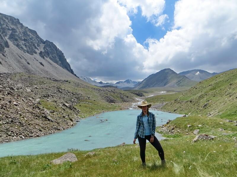 Разлив реки, ущелье Тургень