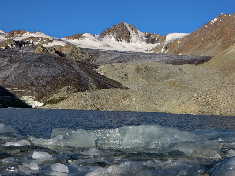 пик Тистаран, ледник Горного Института
