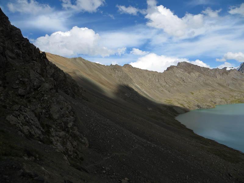 перевал Алакёль северный, Терскей Алатау
