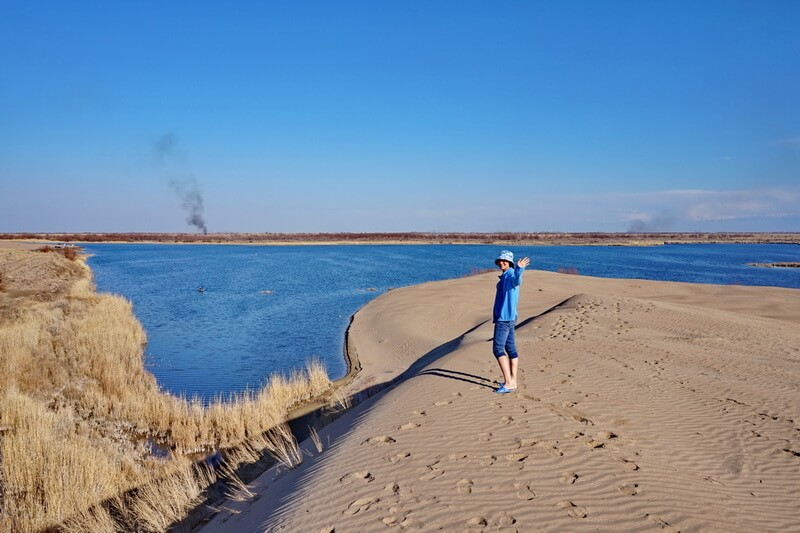 велотур Алматы, озеро Деревянное