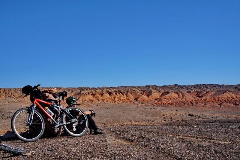 велотур Алматы, горы Богуты