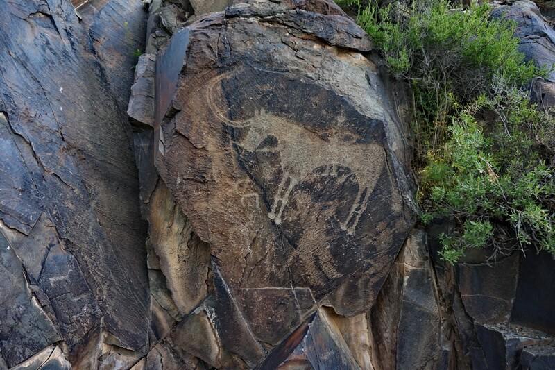 Маковый круг, петроглифы Танбалы Тас