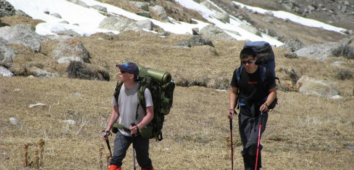 восхождение на гору Карнизная