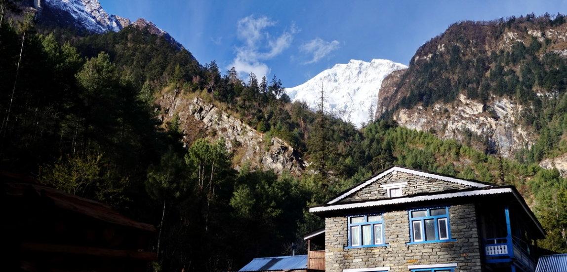 Nepal, Annapurna circuit trekking, Phun Hill trekking
