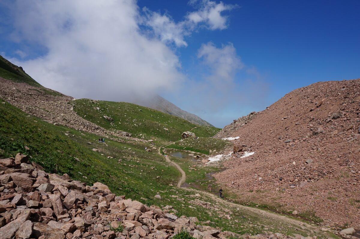 Shymbulak hiking