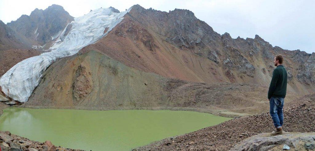 озеро №6, ледник Маншук Маметовой