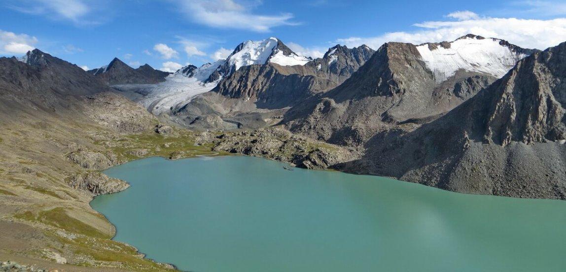 поход на озеро Алакёль в Киргизии, Alakul lake trekking in Kyrgyzstan