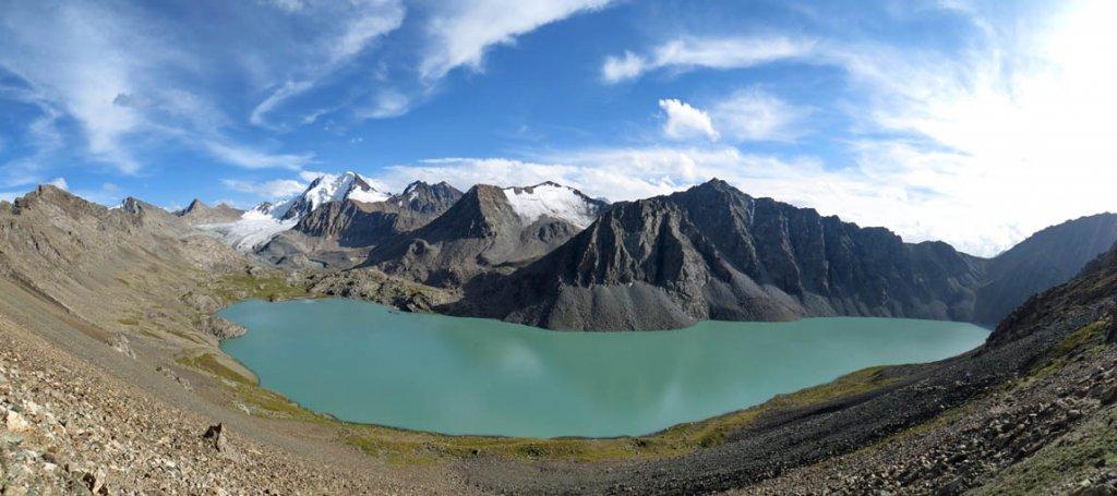 трекинг в Киргизии, озеро Алакель
