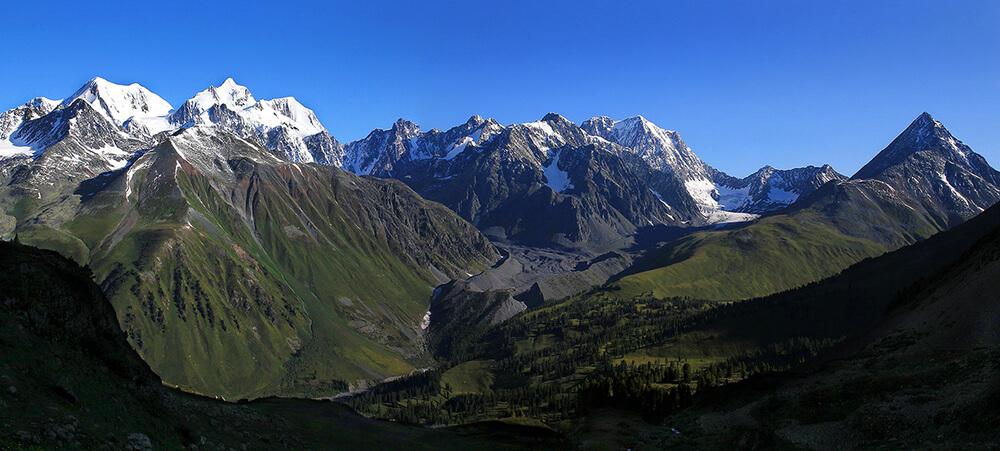 Белуха, Алтай, трекинг к подножию пика Белуха