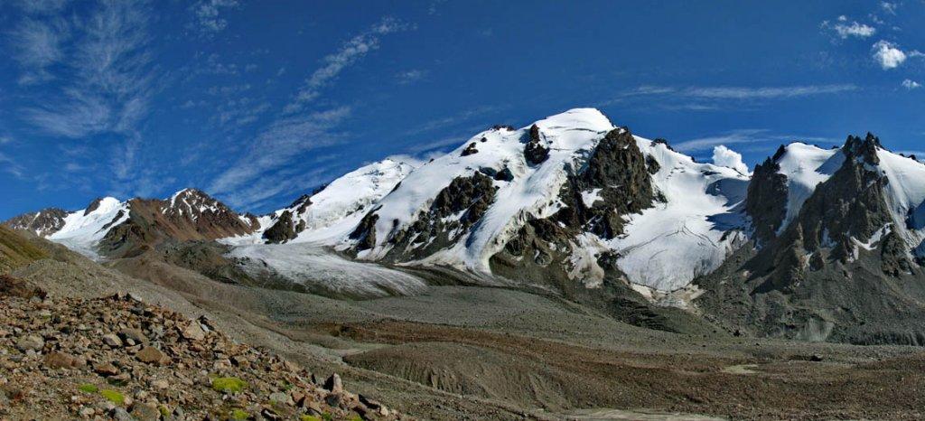 пик Мурынтау, Левый Талгар, ледник Тогузак