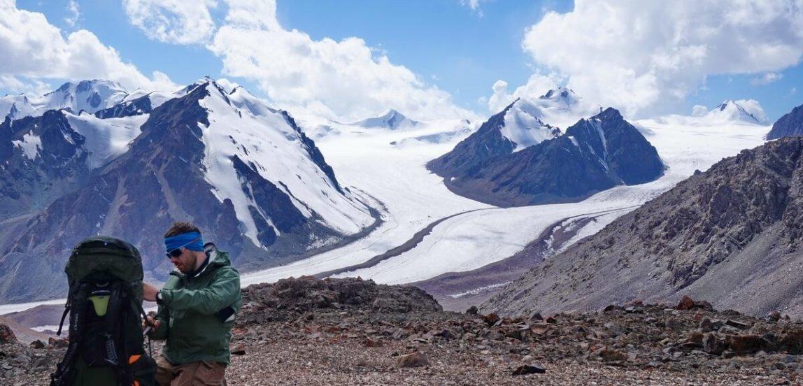 trekking around Talgar peak