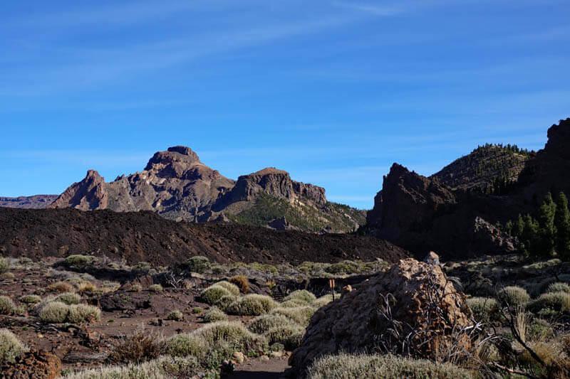 старая кальдера, La Sombrera Tenerife