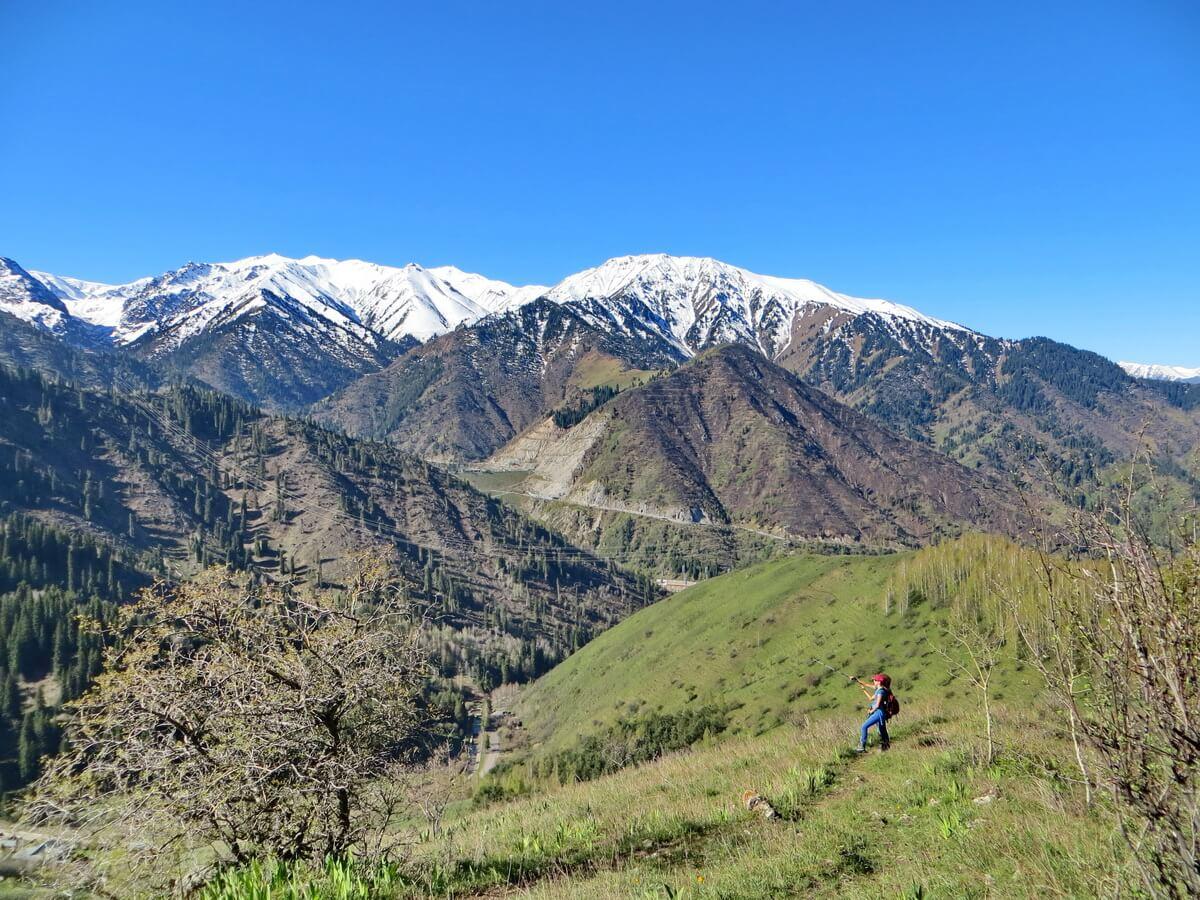 Almaty hiking