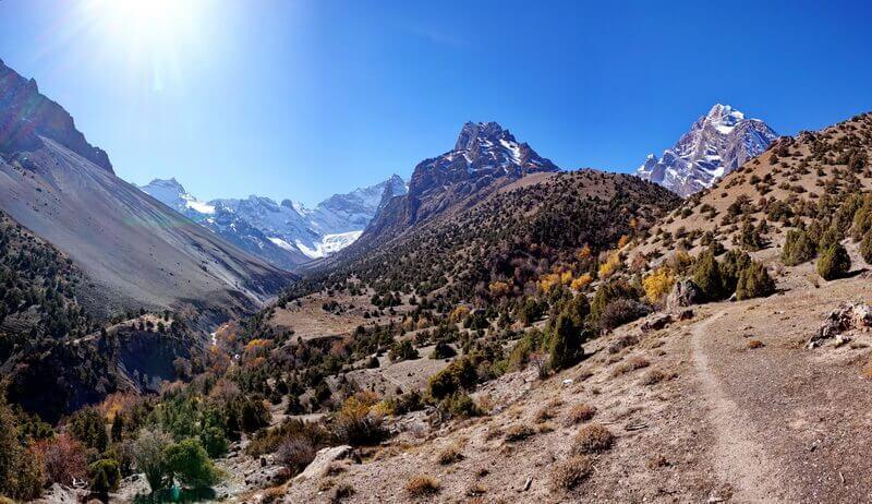 Фанские горы, ущелье Имат