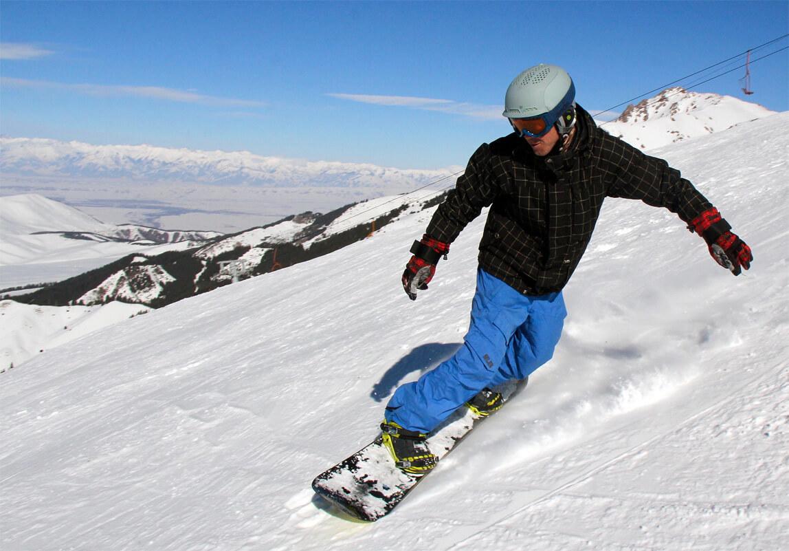 Техника катания на сноуборде картинки