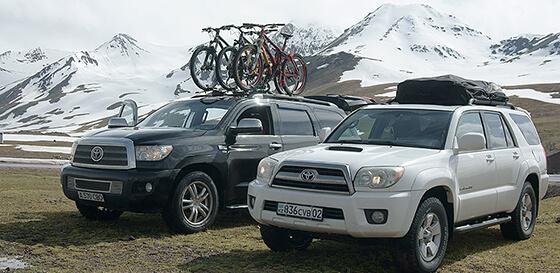 Jeep tour Summer. Almaty.