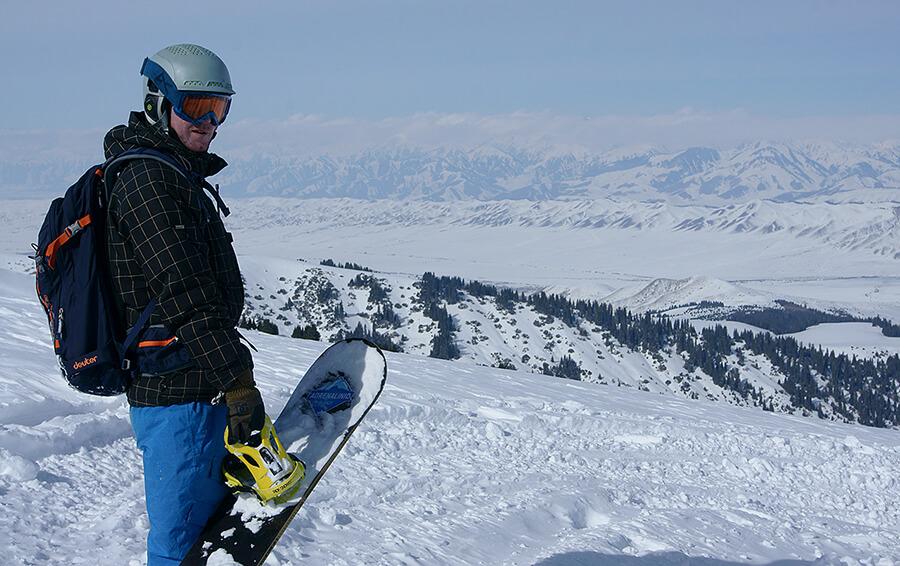 Снегоход vs скитур