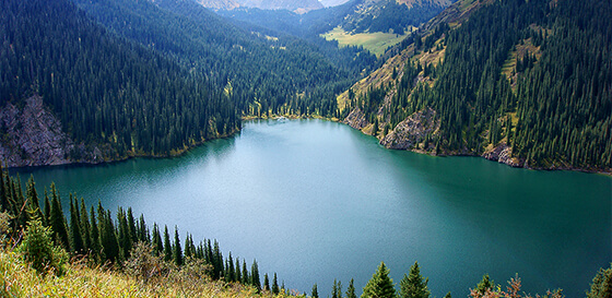 Popular routes Almaty