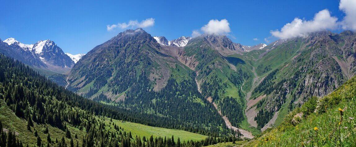 ущелье Средний Талгар
