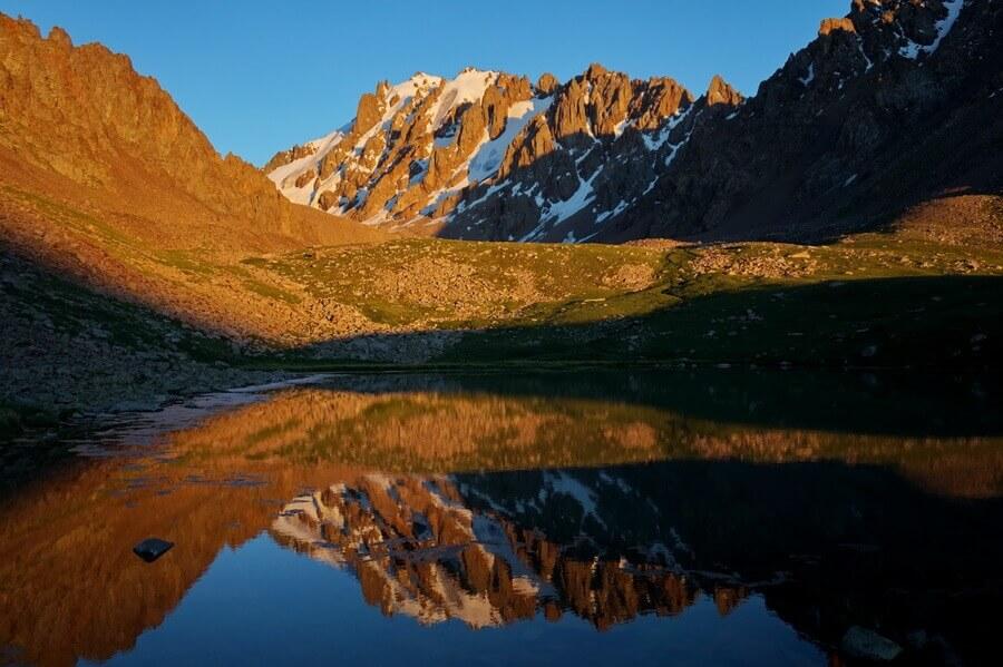 Долина Скифов, Средний Талгар