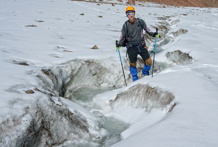 Тающий ледник Богдановича