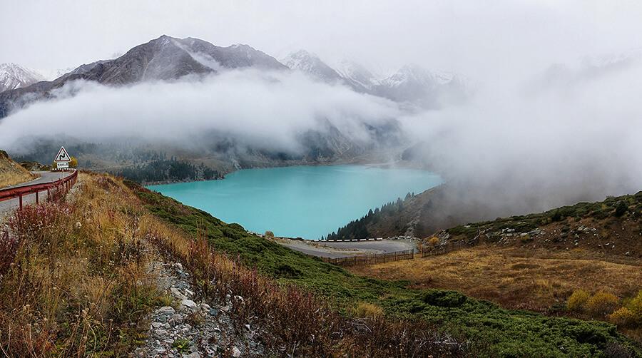 Большое Алматинское озеро 2500 м