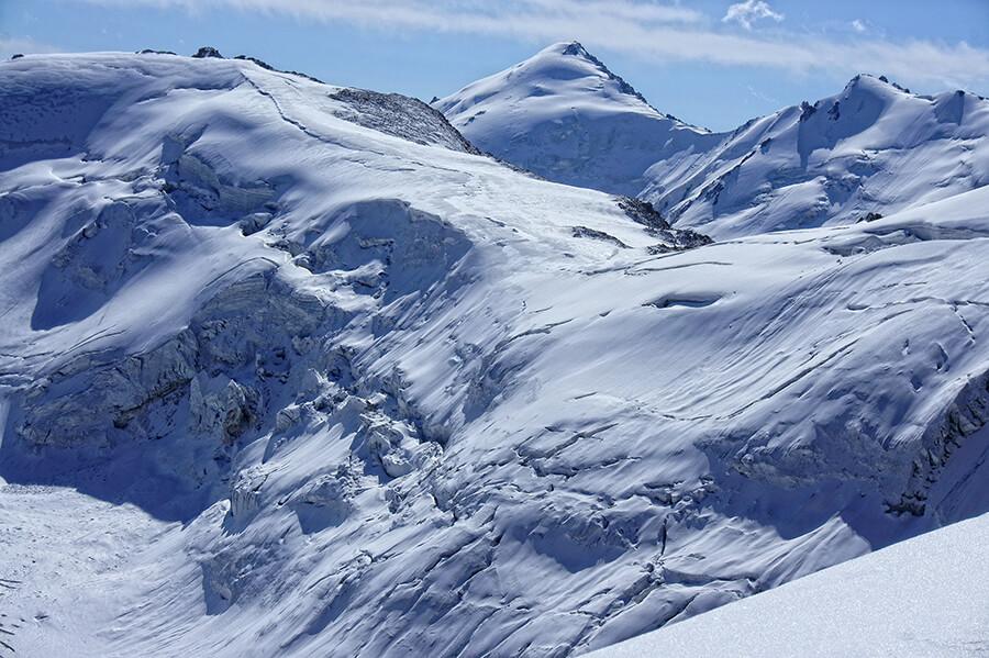 Ледник Погребецкого и пик СГУ