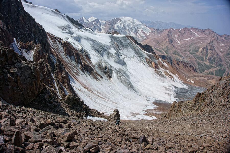 Подъем на перевал Маншук Маметовой