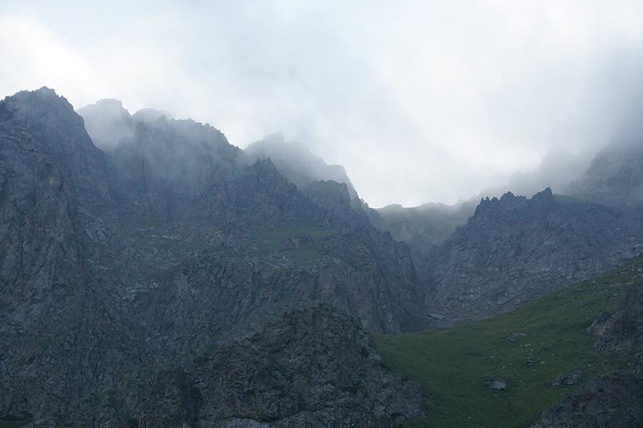 Туман на Мынжылки