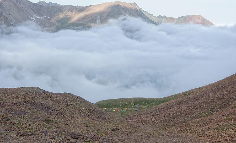 Альпинград в тумане