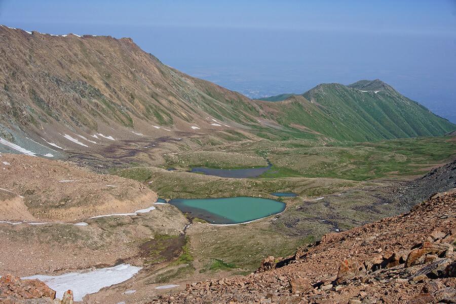 Мореные озера Титова