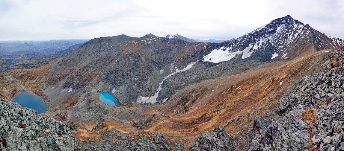 пик Ворошиловский, Ивановский хребет, горы Алтай