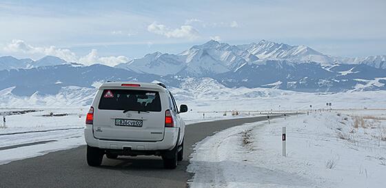 Джип-туры зимой в Алмате