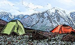 rent sleeping bags tents