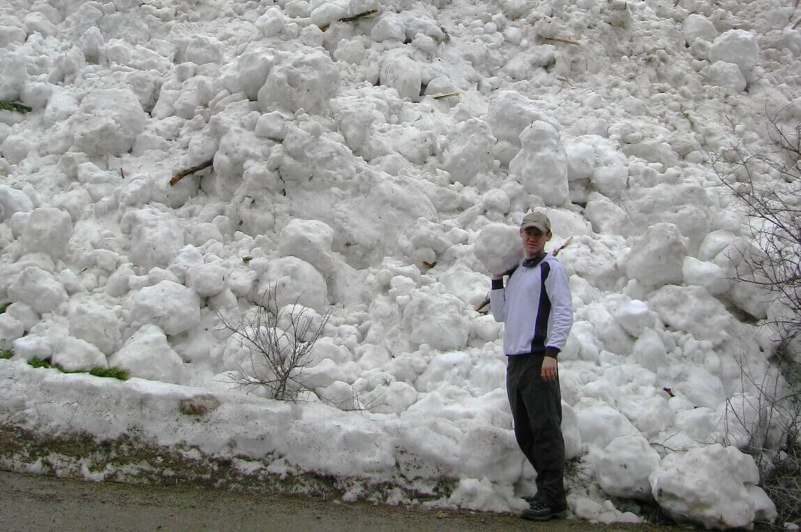 лавинная опасность в горах Заилийского Алатау