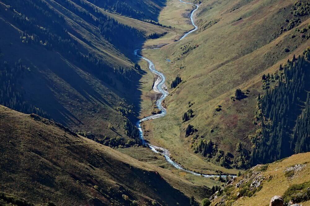 Agynykatty-reka, Sorokonojka-pereval