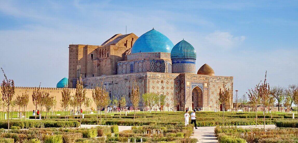 Turkestan, mavzolei-yassavi