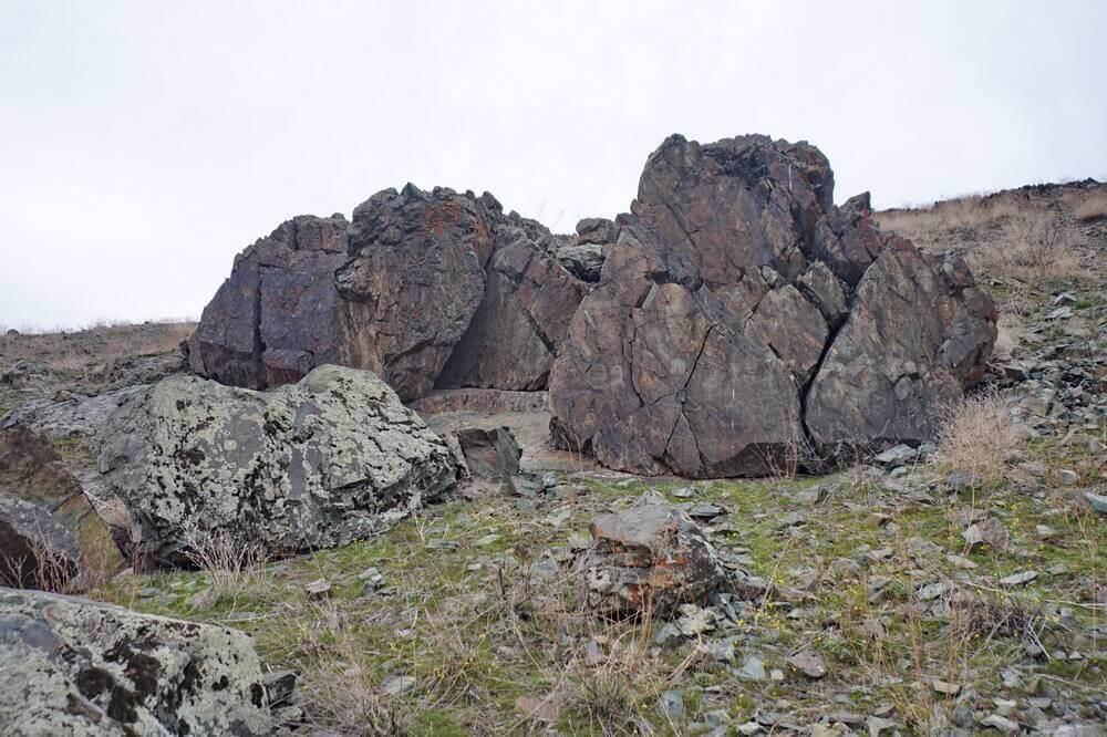 chu-iliyskie-gory, petroglify