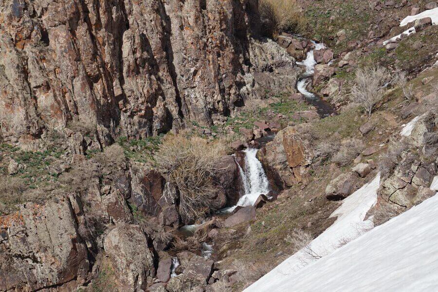 gory-Karjantau, reka-karjansay