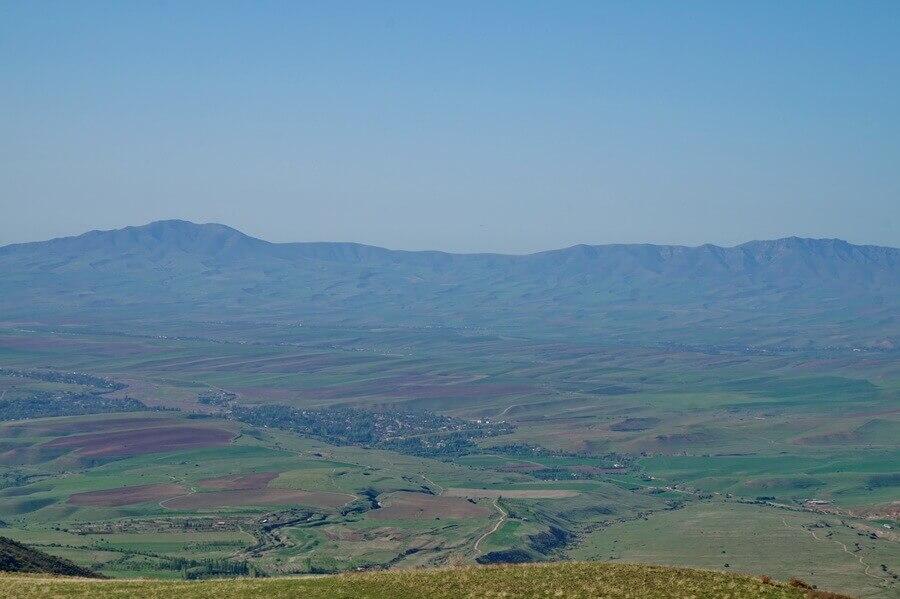 gory-Kazygurt, selo-karjan